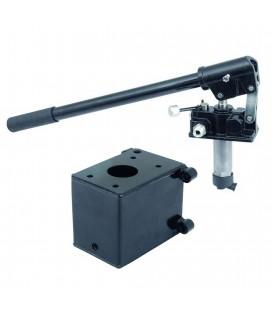Pompa hydrauliczna ręczna HHDP25-5 (5l zbiornik)